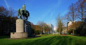 Roerloze plekken in de drukke stad, Gent